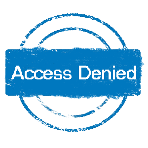 read/write access problems access is denied